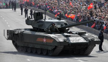 Russian military tests new T-14 Armata tank in Syria