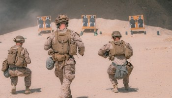 The Pic of the Day: Crisis Response Marines