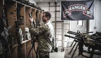 The Pic of the Day: A rare peek inside a Ranger armory