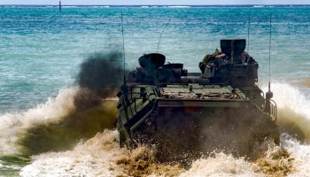 Marine Corps amphibious assault vehicle sinks, multiple casualties
