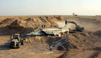 The underground fate of Saddam Hussein's air force