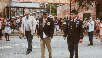 Force Recon legend, Major James Capers, receives hero's welcome in his hometown