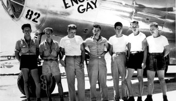 On this day, the Enola Gay dropped the first atomic bomb on Hiroshima