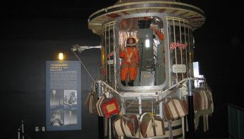 60 years ago, Colonel Joe Kittinger parachuted from 102,000 feet