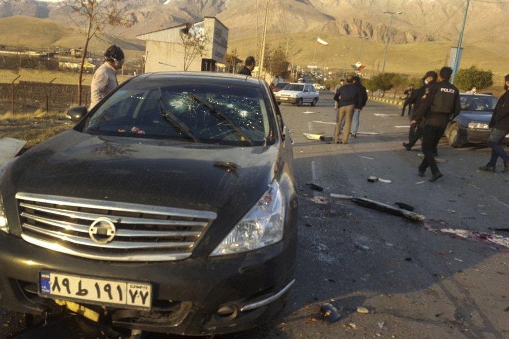 Iranian Nuclear Scientist killed