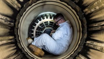 The Pic of the Day: Inside an F-15E Engine