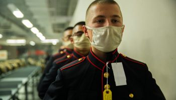Is the Mask a Forever Part of Military Life?