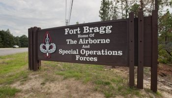 Fort Bragg, Benning and Hood to Be Renamed Under NDAA