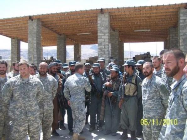General Miller in Afghanistan in 2010