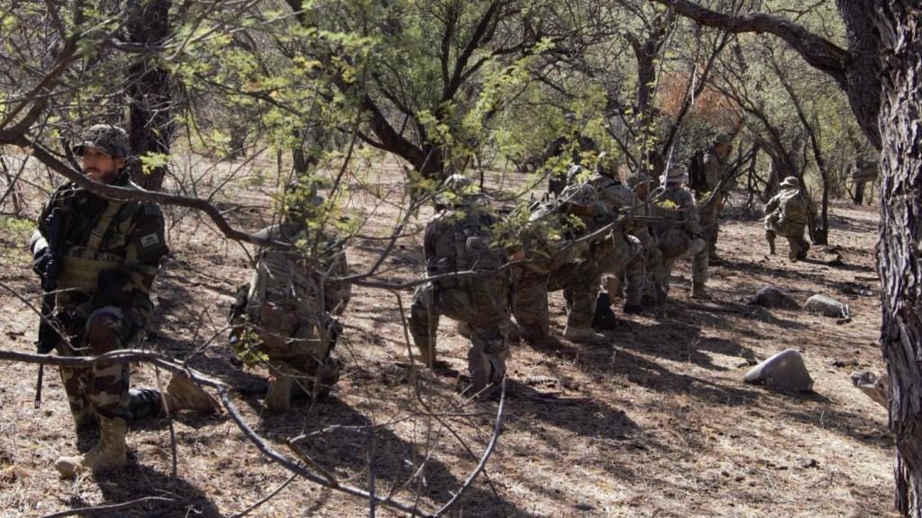 Patrolling the U.S. Border