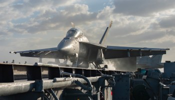 USS Nimitz Fighters are Stirring in the Gulf