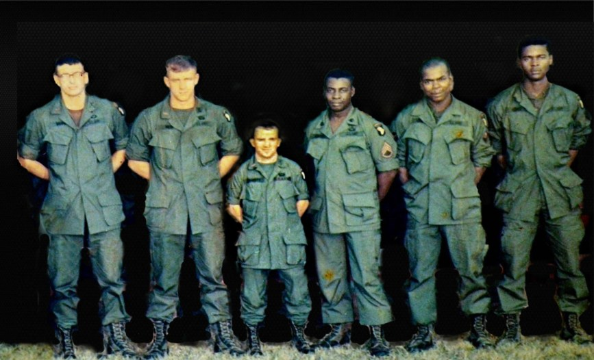 Flaherty the Giant Killer Green Beret