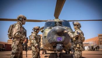 Swedish Troops Join SOF Task Force Takuba in Mali