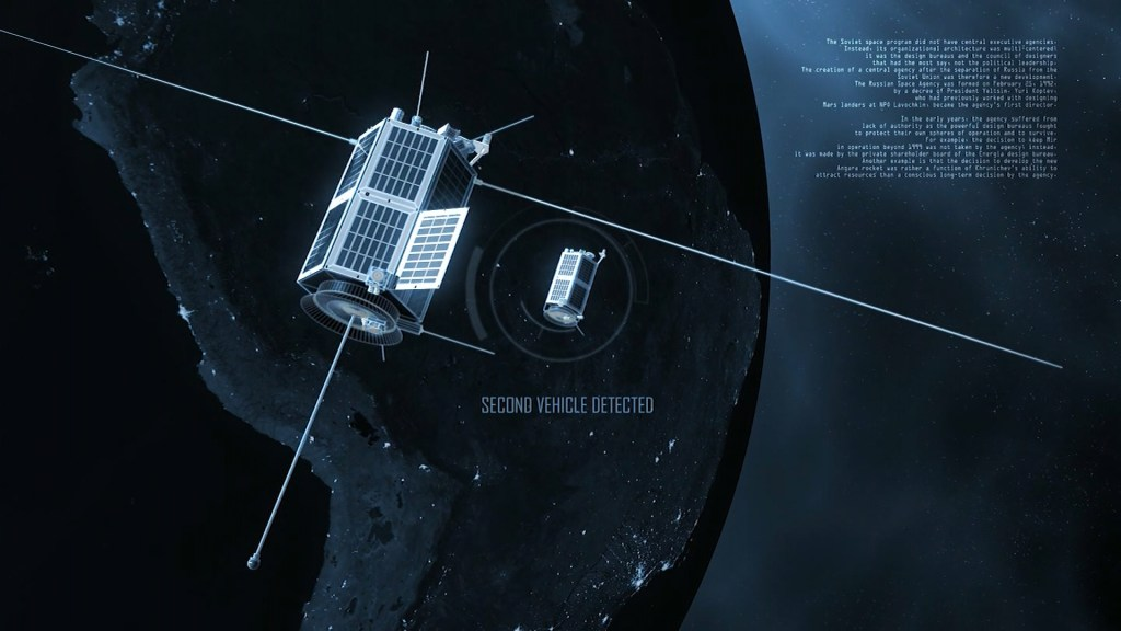 Rendering of the Russian Kosmos 2543s 'Nesting Doll' Satellite