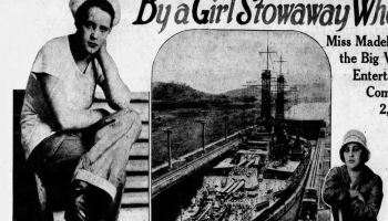 """""""At 'Em Arizona!"""" The Battleship That Had a Stowaway Prostitute Aboard For Two Weeks!"""