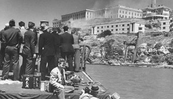 The Day the Marines Firebombed Alcatraz