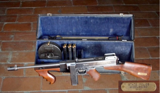 The Thompson Submachine Gun, a WWII and Gangster Icon