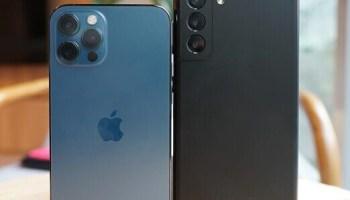 Battle Phones!! iPhone 12 Pro Versus Samsung Galaxy S21 Ultra