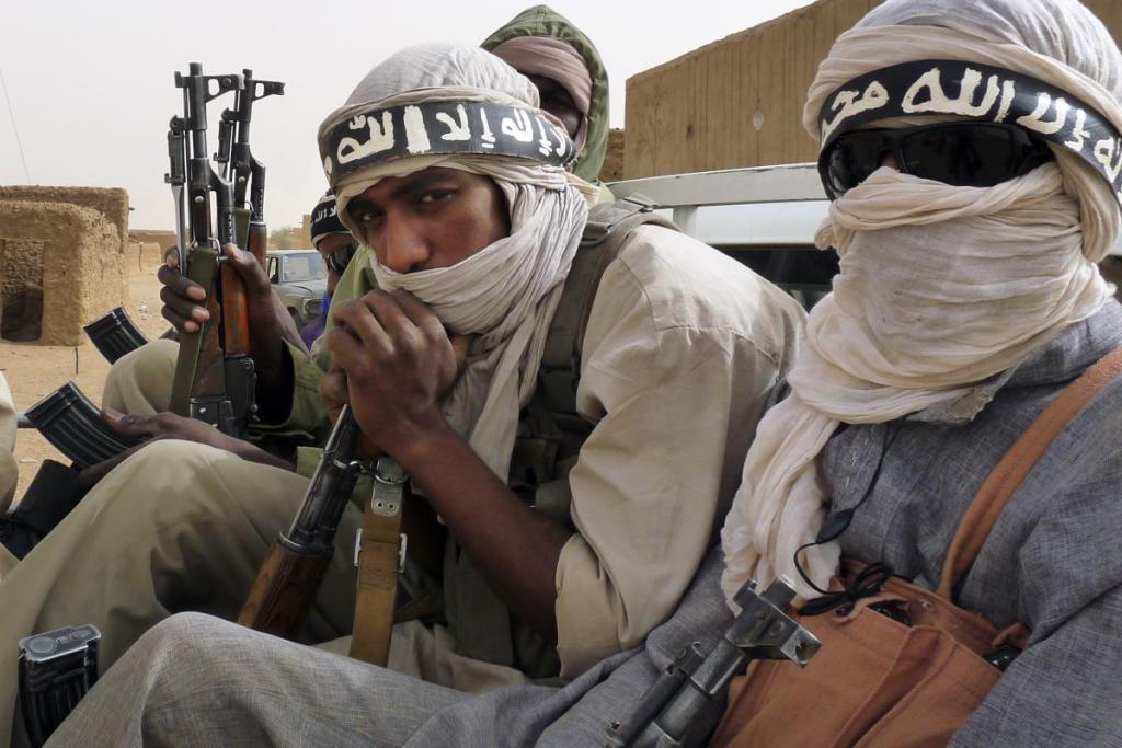 Islamic insurgents in Mali