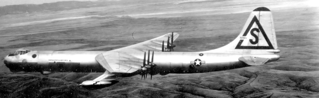 A RB-36 Peacemaker, the reconnaissance variant of the B-36.