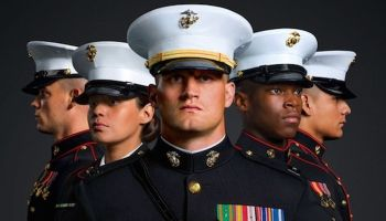 """Marine Corps Dress Blues """"A Style Guide"""""""