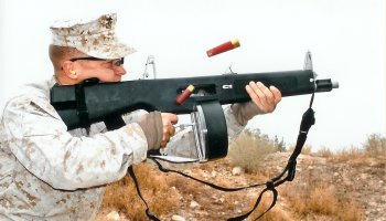 The AA-12: The Full Auto Shotgun From The Future