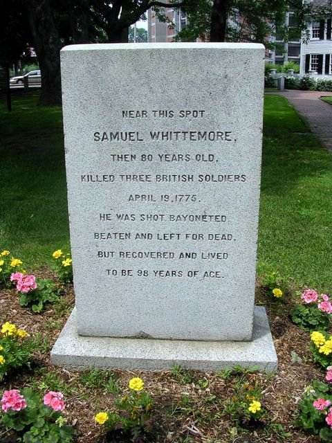 Samuel Whittemore, the Revolution's Oldest Lion