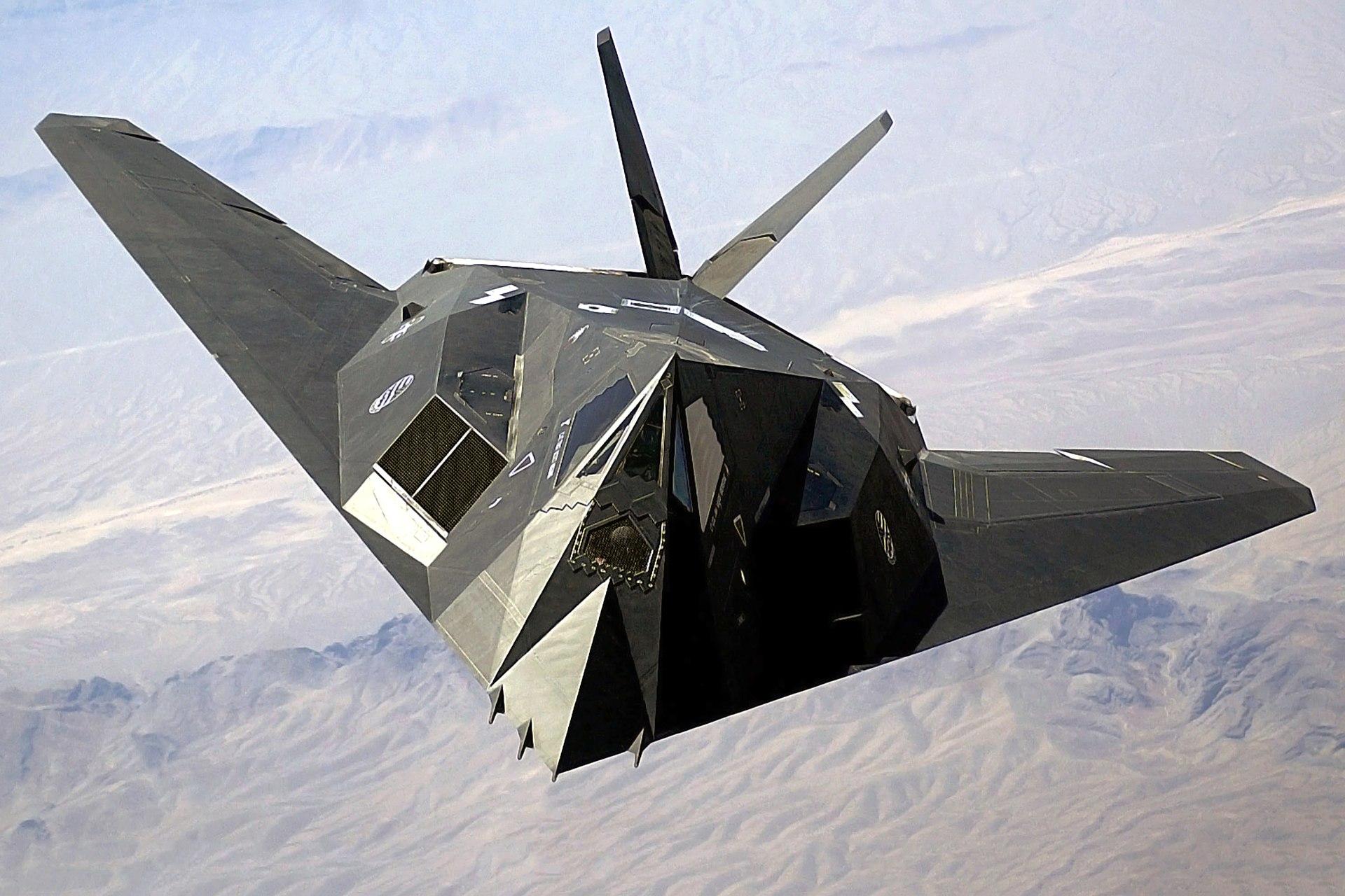 F-117A Nighthawk Stealth Fighter