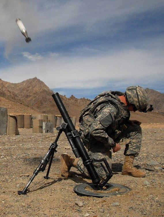 M224 60mm mortar