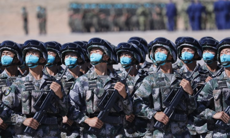 Sino-Russian Military Exercise