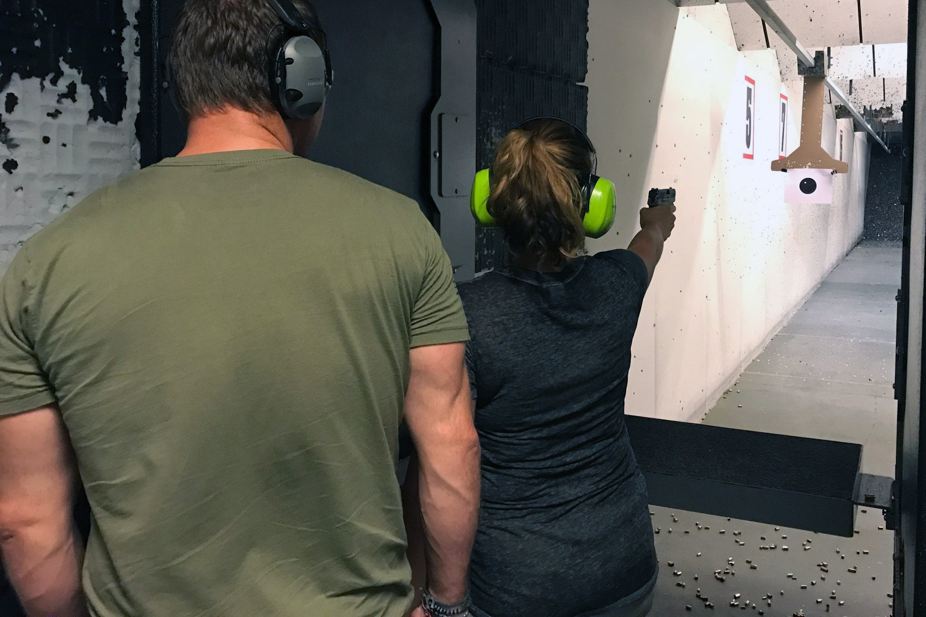 Sig P320 one-handed shooting drills