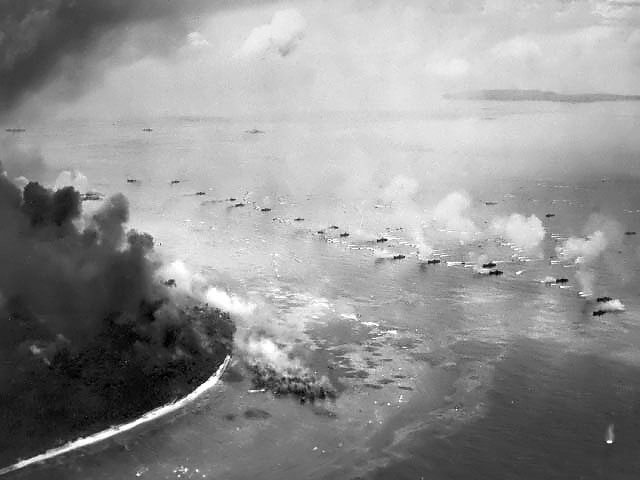 Battle of Peleliu invasion