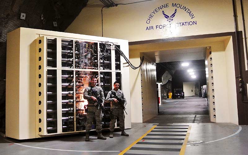 4 Deep Underground and Secret US Military Bases Cheyenne Mountain Complex