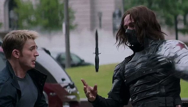 Winter Soldier Knife Captain America