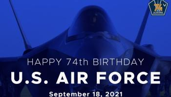 Happy Birthday, Air Force! You're Old!