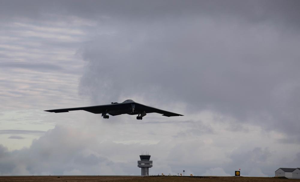 Stealth bomber B-2 Spirit