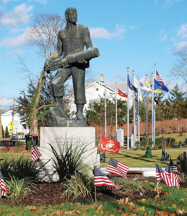 John Basilone statue