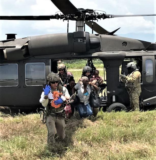 Air Force Special Tactics operators Haiti