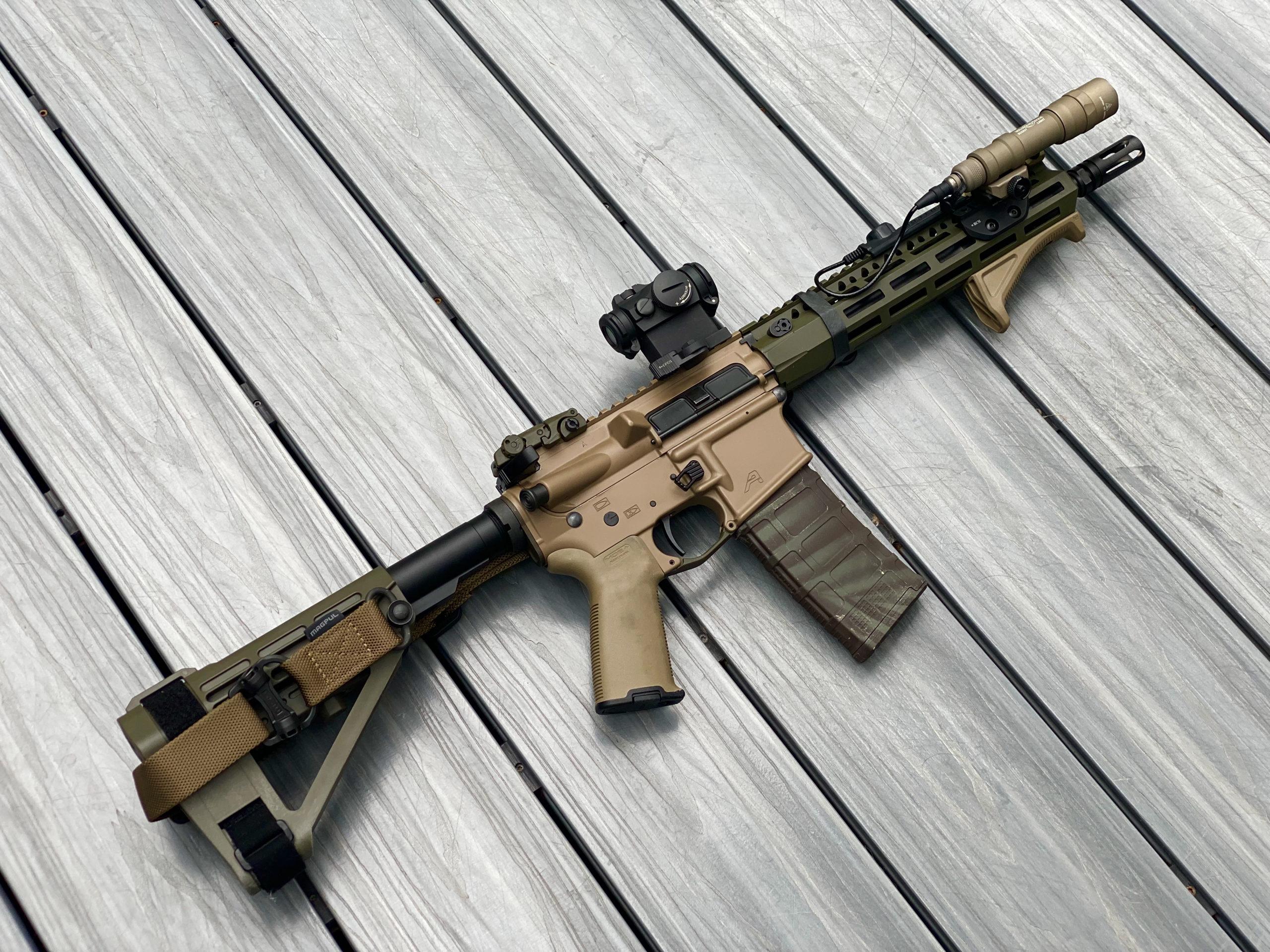 custom Aero Precision AR15 build