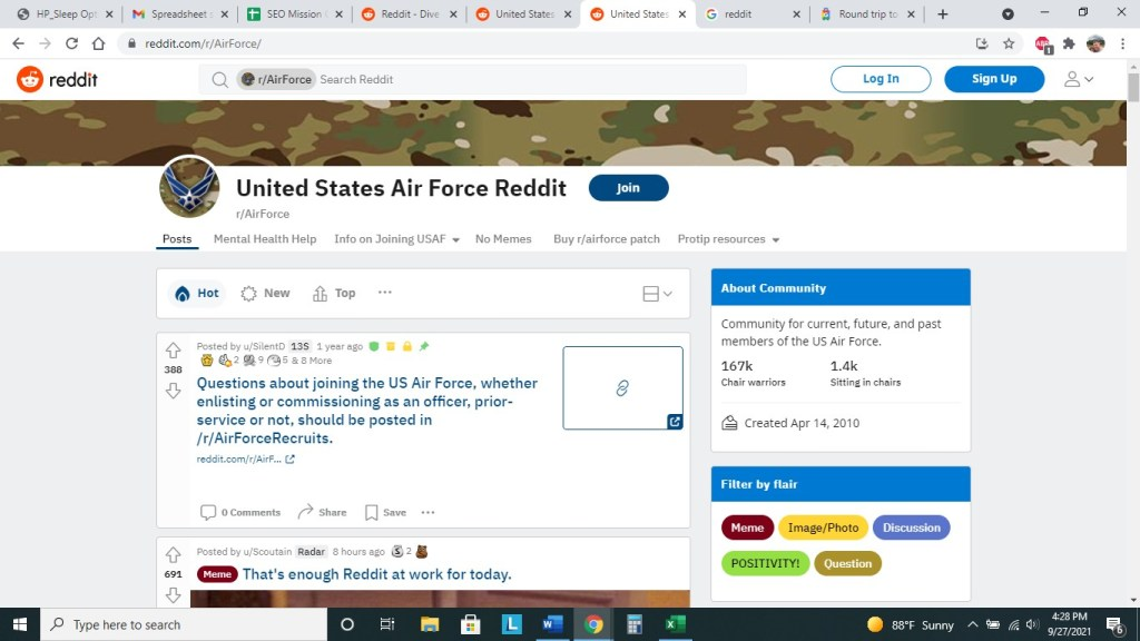 Air Force Reddit