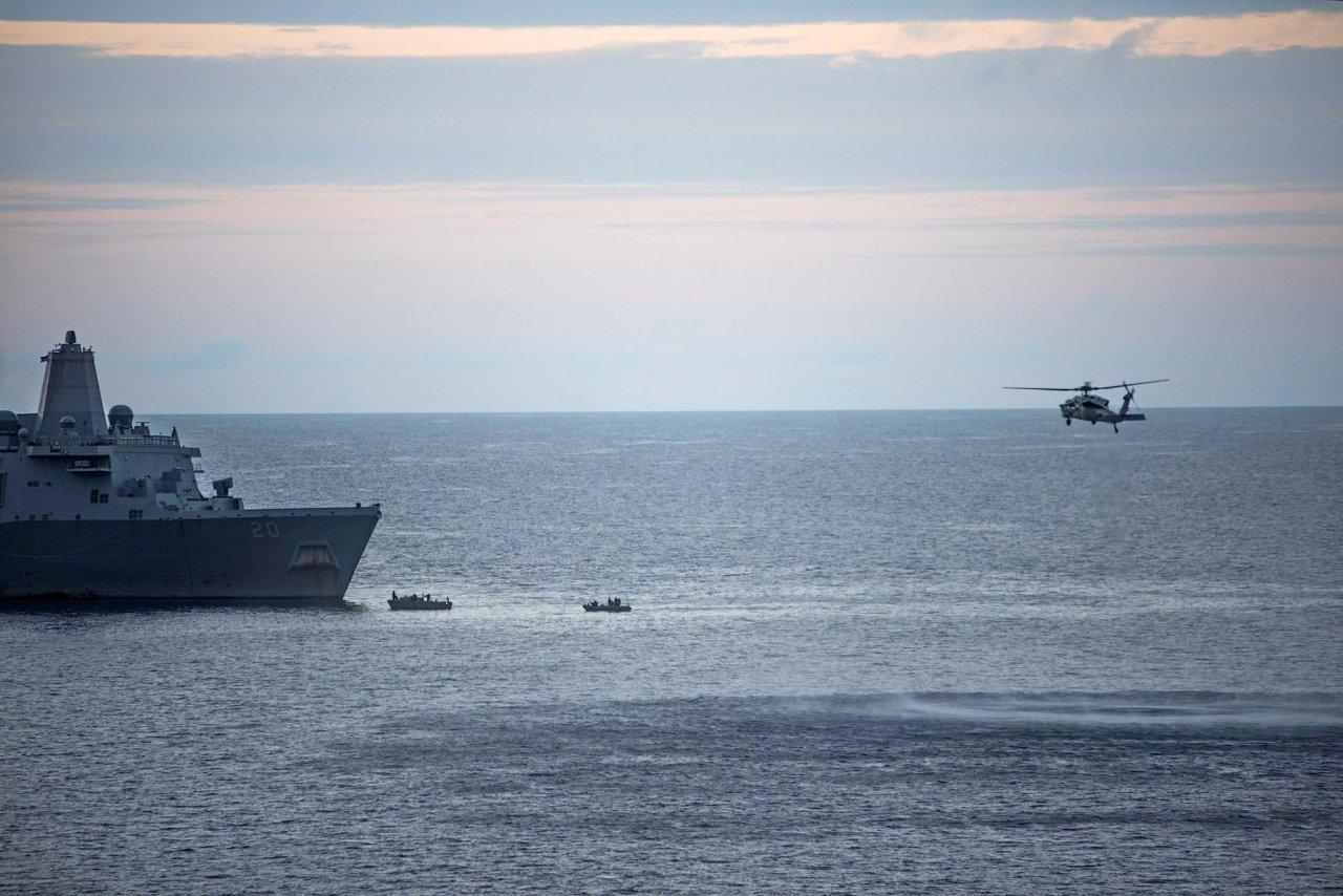 MV-22 Osprey Australia missing Marines