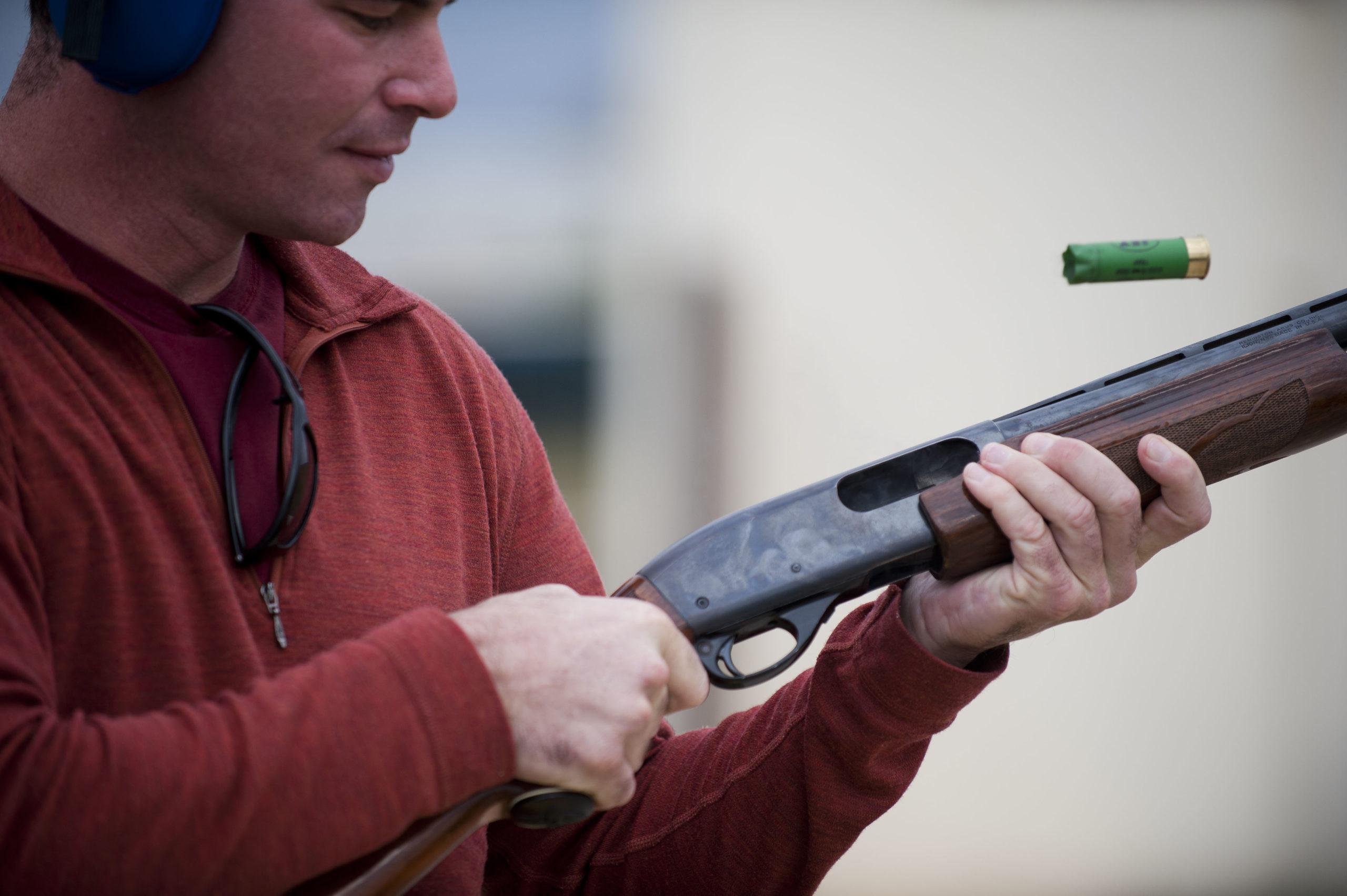 Shotgun military home defense guns