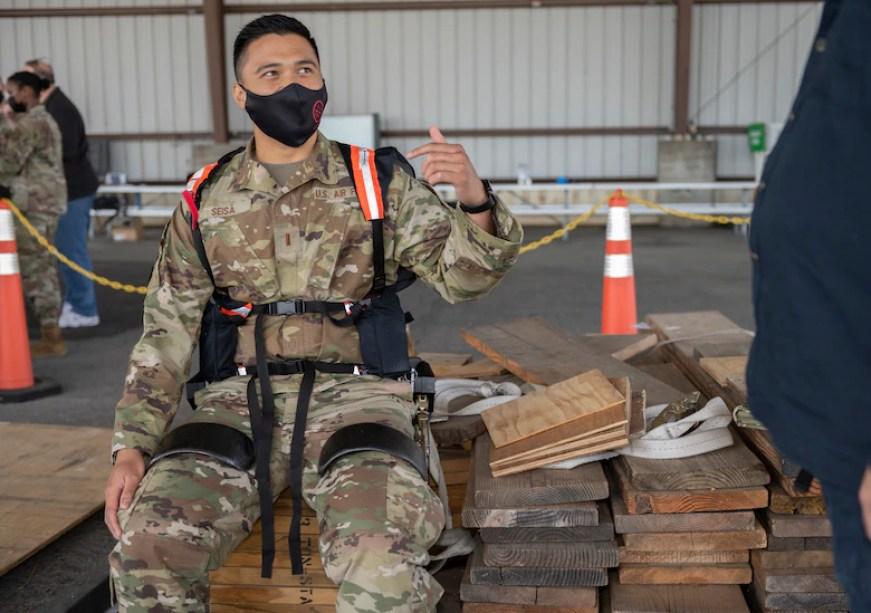 ASU exoskeleton Air Force