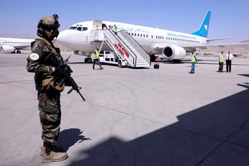 Afghanistan private rescue flights