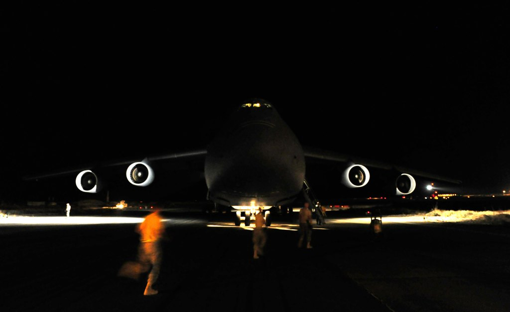 Special Operations Low-Level II (SOLL II) C-5 Galaxy Role