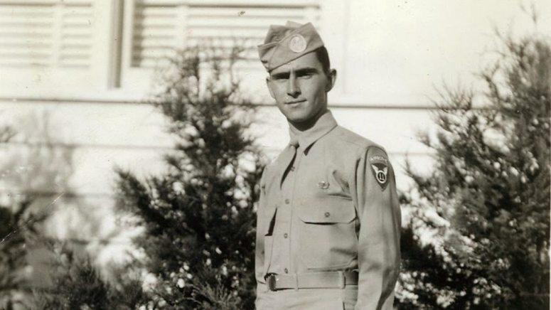 Rod Serling paratrooper WWII Twilight Zone