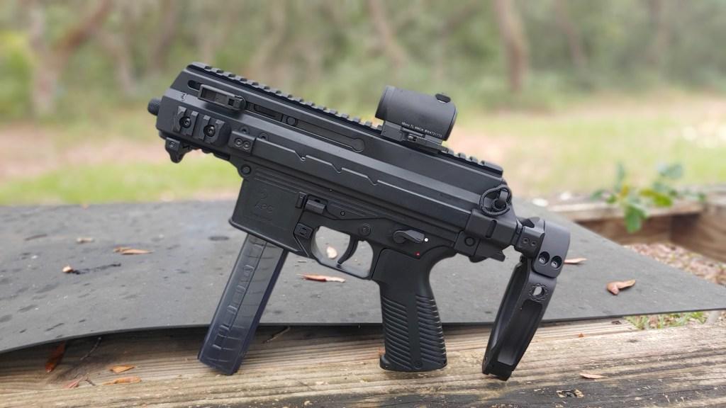 APC9K submag submachine gun