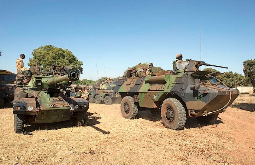 French armored vehicles