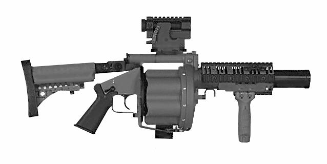 MK 32 Grenade Launcher