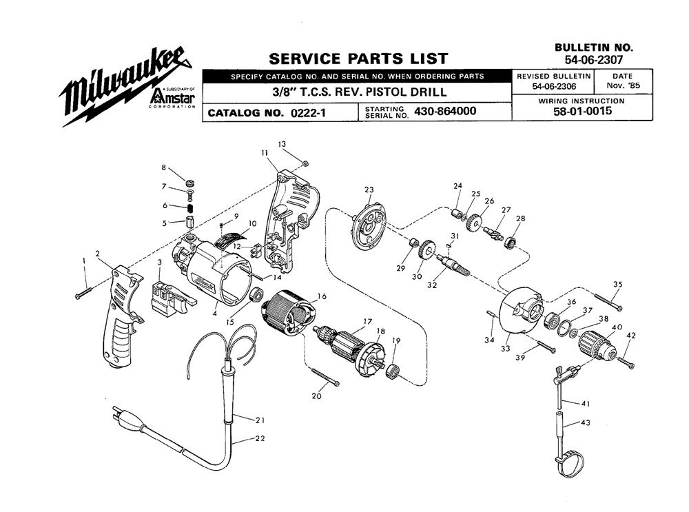 Buy Milwaukee 0222-1-(430-864000) 3/8
